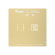 QianLi Japan Laser Tech CPU BGA Reballing Gold Stencil for A8/A9/A10/A11/A12, fig. 1