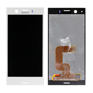Replacement for Sony Xperia XZ1 Compact LCD Screen with Digitizer Assembly - Silver
