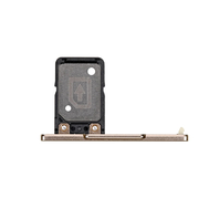 Replacement for Sony Xperia XA1 SIM Card Tray with Cover Flap - Gold