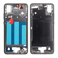 Replacement for Huawei P20 Front Housing LCD Frame Bezel Plate - Black