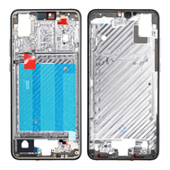 Replacement for Huawei P20 Front Housing LCD Frame Bezel Plate - Gray