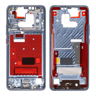 Replacement for Huawei Mate 20 Pro Front Housing LCD Frame Bezel Plate - Midnight Blue