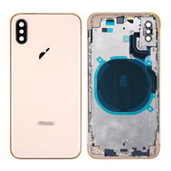 Replacement for iPhone Xs Rear Housing with Frame - Gold
