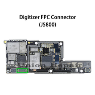 Replacement for iPhone X Digitizer Connector Port Onboard