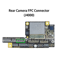 Replacement for iPhone X Rear Camera Connector Port Onboard