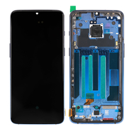 Replacement for OnePlus 7 LCD Screen Digitizer Assembly with Frame - Blue