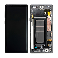 Replacement for Samsung Galaxy Note 9 Series LCD Screen Digitizer Assembly with Front Housing - Black