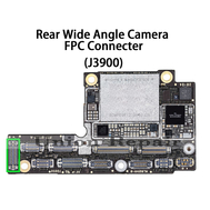 Replacement for iPhone XS MAX Rear Wide Angle Camera Connector Port Onboard