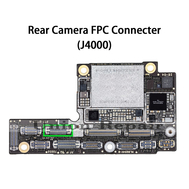 Replacement for iPhone XS MAX Rear Camera Connector Port Onboard