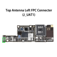Replacement for iPhone XS MAX Top Left Cellular Antenna Connector Port Onboard