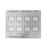 MiJing Universal Hard Disk BGA Reballing Stencil for iPhone/iPad All Series
