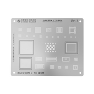 MJ High Precision BGA Reballing Stencil for iPad Series, Type: For iPad 2/3/4/Mini1