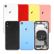 Replacement for After Market iPhone XR Back Cover Full Assembly, Color: Black