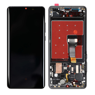 Replacement for Huawei P30 Pro LCD Screen Digitizer Assembly with Frame - Black
