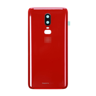 Replacement for OnePlus 6 Back Cover - Red