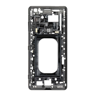 Replacement for Sony Xperia XZ3 Middle Frame Front Housing - Black