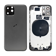 Replacement for iPhone 11 Pro Rear Housing with Frame - Space Gray