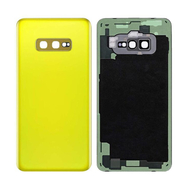 Replacement for Samsung Galaxy S10e Battery Door - Canary Yellow