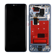 Replacement for Huawei Mate 20 Pro LCD Screen Digitizer Assembly with Frame - Midnight Blue