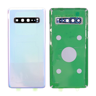 Replacement for Samsung Galaxy S10 5G Battery Door with Camera Glass - Crown Silver