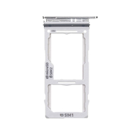 Replacement for Samsung S10 Dual SIM Card Tray - Silver