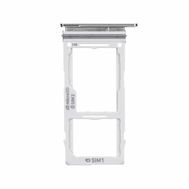 Replacement for Samsung Galaxy S10e Dual SIM Card Tray - Silver