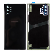 Replacement for Samsung Galaxy Note 10 Plus Battery Door - Black
