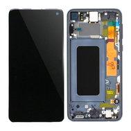 Replacement for Samsung Galaxy S10e LCD Screen Assembly with Frame - Blue