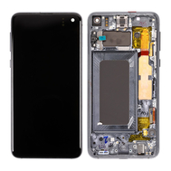 Replacement for Samsung Galaxy S10e LCD Screen Assembly with Frame - Black