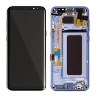 Replacement for Samsung Galaxy S8 SM-G950 LCD Screen Assembly with Frame - Blue