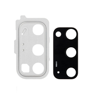 Replacement for Samsung Galaxy S20 Rear Camera Holder with Lens - White
