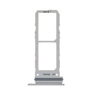 Replacement for Samsung Galaxy Note 10 Dual SIM Card Tray - Silver