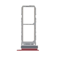 Replacement for Samsung Galaxy Note 10 Dual SIM Card Tray - Red