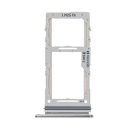 Replacement for Samsung Galaxy Note 10 Plus Dual SIM Card Tray - Silver