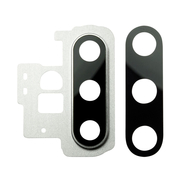 Replacement for Samsung Galaxy Note 10 Plus Rear Camera Holder with Glass Lens - Aura White