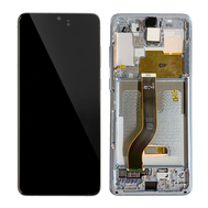 Replacement for Samsung Galaxy S20 Plus LCD Screen Assembly with Frame - Cloud White