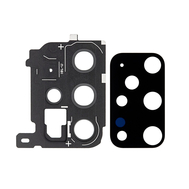 Replacement for Samsung Galaxy S20 Plus Rear Camera Holder with Lens - Black