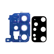 Replacement for Samsung Galaxy S20 Plus Rear Camera Holder with Lens - Cloud Blue