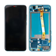 Replacement for Huawei Honor 10 LCD Screen Digitizer Assembly with Frame - Phantom Green