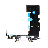 Replacement for iPhone SE 2nd USB Charging Flex Cable - White