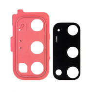 Replacement for Samsung Galaxy S20 Rear Camera Holder with Lens - Red