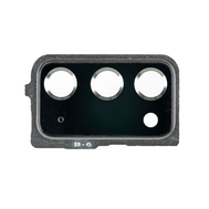 Replacement for Samsung Galaxy Note 20 Rear Camera Holder with Glass Lens - Mystic Green