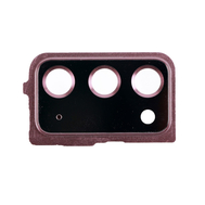 Replacement for Samsung Galaxy Note 20 Rear Camera Holder with Glass Lens - Mystic Bronze