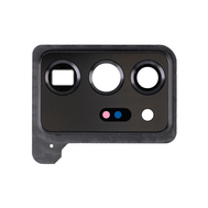 Replacement for Samsung Galaxy Note 20 Ultra Rear Camera Holder with Glass Lens - Mystic Black
