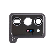 Replacement for Samsung Galaxy Note 20 Ultra Rear Camera Holder with Glass Lens - Mystic White