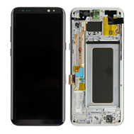 Replacement for Samsung Galaxy S8 Plus SM-G955 LCD Screen Assembly - Arctic Silver