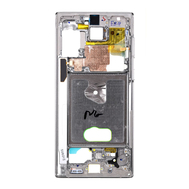Replacement for Samsung Galaxy Note 10 Rear Housing Frame - White