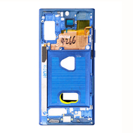 Replacement for Samsung Galaxy Note 10 Plus Rear Housing Frame - Blue