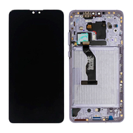 Replacement for Huawei Mate 30 LCD Screen Digitizer Assembly with Frame - Silver