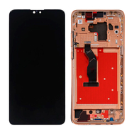 Replacement for Huawei Mate 30 LCD Screen Digitizer Assembly with Frame - Orange